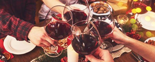 vin repas de Noël